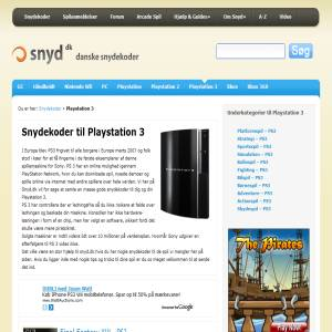 Playstation 3 Console video gaming & cheats